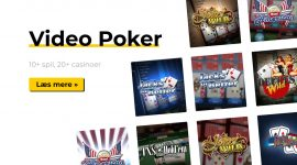Video Poker på Spillemaskiner.me