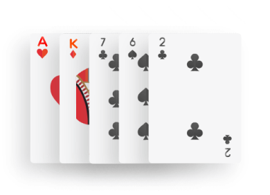 Poker - High Card combination