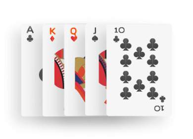 Poker - Straight combination