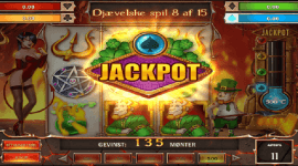 Spil på Jackpot slot Leprechaun goes to hell - Vind stort!